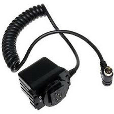 Brand New Quantum QF12 QFlash TTL Flash Adapter cable for Nikon film cameras