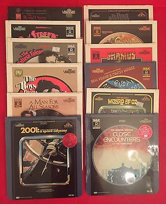 12 Ced Videodiscs + Extras All New & Sealed 2001 Close Encounters Video Disc