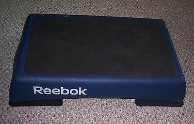 """Reebok Aerobic 5 Position 6 To 10"""" Inclining Step Bench Blue Stepper"""