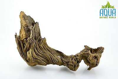 (A-5614)  Oak Bogwood Aquarium Wood (Red moor) Size L