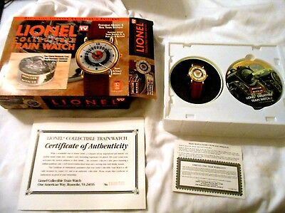 Lionel Trains Collectible Train Watch  New In Box