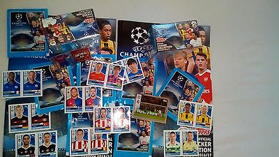 2016/2017 Champions League Complete Set All Stickers Best Price New New Topps Uk