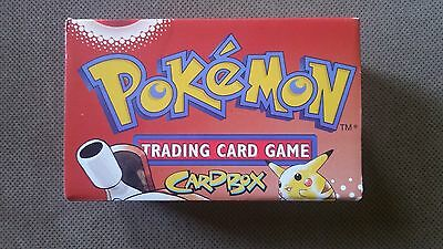 Wizards of the Coast 1999 Vintage Pokemon Trading Card Game CardBox