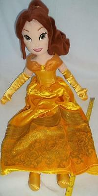 """Disney Store Plush Belle Soft Toy 16"""" Beauty and The Beast  3 of 3"""