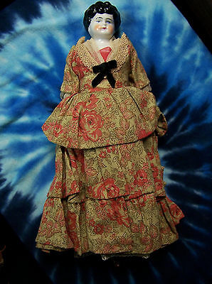 Antique Late 1800s China Head Doll Appraised in the 1990s at 350-400 Dollars USD