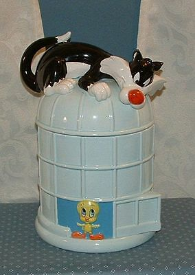 *rare 1989 Sylvester & Tweety Cookie Jar - The Good Company - Excellent Cond.