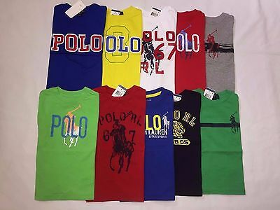 New With Tags Polo Ralph Lauren Toddler Short.sleeve T.shirts