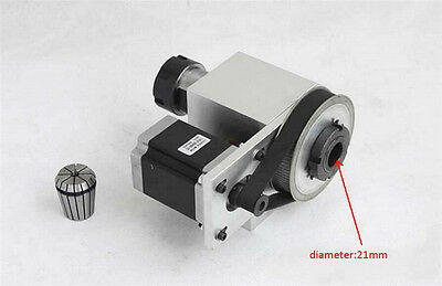 CNC Rotary Axis Rotational 4th A axis 4 Jaw Chunk 100mm for CNC Router Engraving