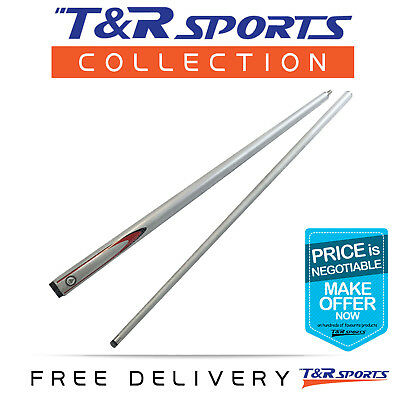 Gramax Eagle Pattern Graphite Pool Snooker Cue - 57 Inch 9mm Tip 2-Piece AU Post