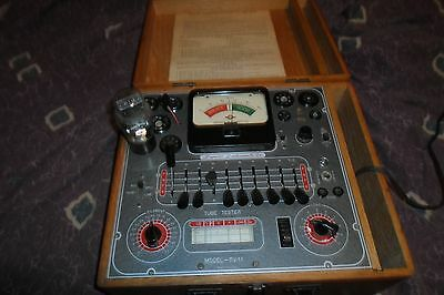 Vintage 1950's Superior SICO TV-11 Tube Tester Working  *Worldwide*