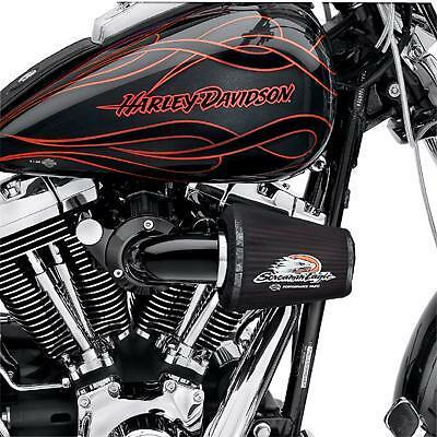 Arlen Ness Air Filter Element for Screamin Eagle Air Cleaner Standard Red .