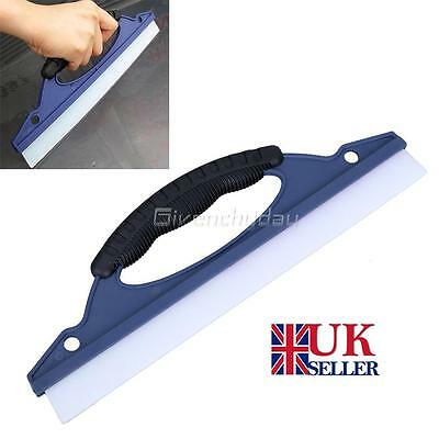 Silicone Dry Blade Window Clean Wiper Wash Water Valeting Cleaner Car Squeegee