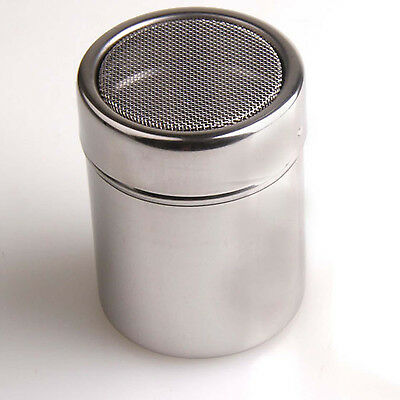 ST Metal Chocolate Cocoa Flour Shaker Icing Sugar Powder Coffee Pepper Sifter