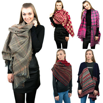 Ladies Soft Scarf Designer Thick Warm Scarf Large Wrap Scarves Shawl