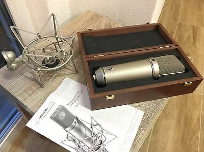 Neumann U87 AI micro with EA87 shockmount and original case.