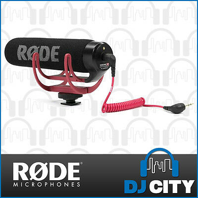 Rode VideoMic Go On Camera Video Microphone DSLR Video Mic