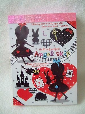 Qlia ANGEL SKIP  mini memo pad 100 sheets