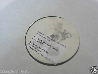 """C 20) Single 12"""": VIVIANNE PROJECTS - STRANGERS WITH CANADA, THIS JAM STINKS"""