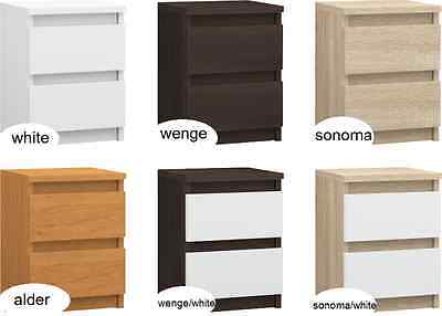 set of two bedside tables  / storage cabinet / two drawers