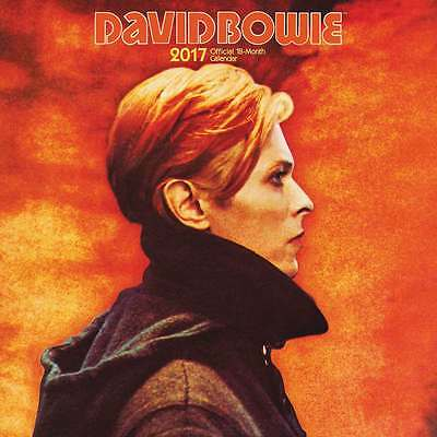 DAVID BOWIE OFFICIAL CALENDARIO 2017 Browntrout NUOVO