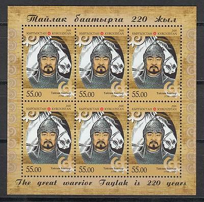 Kyrgyzstan Kirgistan MNH** 2016 Mi.863 A KB 220th Birth Anniversary of Taylak