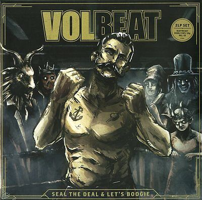 Volbeat Seal The Deal And Let's Boogie Doppio Vinile Lp 180 Grammi + Cd  Nuovo