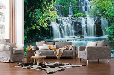 Wall Mural Photo Wallpaper PURA KAUNUI FALLS Heritage Living Room Decor 368x254