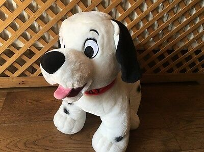 Disney store Exclusive  101 dalmatians dalmations large Lucky soft toy-RARE