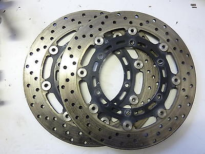 Yamaha R1 5Pw 2002 - 2003 Front Brake Disc Rotors Discs 4.96Mm