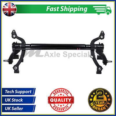 Refurbished Peugeot 206SW Rear Axle, 206 Estate Axle, Drum NON ABS