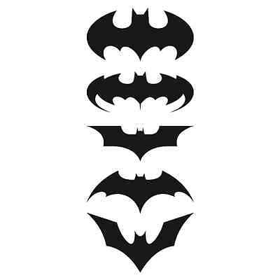 p891 - Pack de 5 adhesivos de Batman DCCOMICS STICKER COCHE PARED CASCO MOTO