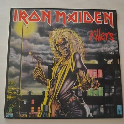 Iron Maiden - Killers - 1981 First Press Yugoslavia Lp