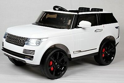 Kids Range-Rover Vogue SVR Sport-Style 12v Electric Battery Ride on Car-White*