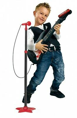 Simba Smoby Electric Guitar and Standing Mic. Brand New