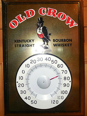 Old Crow Straight Bourbon Whisky Thermometer