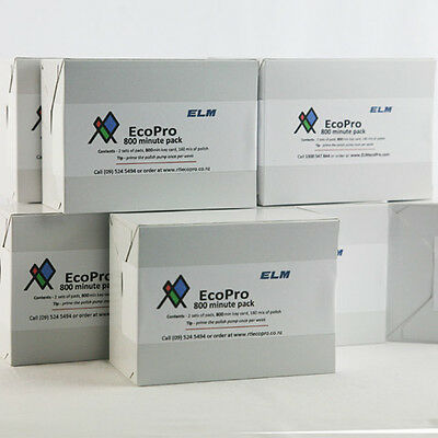 NEW Bulk pack- 10 x 800 minute supply pack EcoPro2 supplies and parts