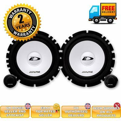Alpine SXE-1750S 280 watts 17cm 2-way component speaker system upgrade speakers