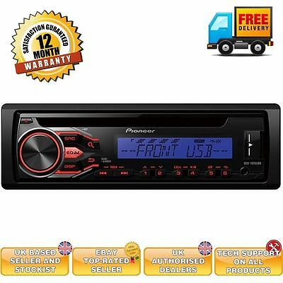 Pioneer DEH-1800UBB Car stereo with USB AUX Android compatible radio tuner