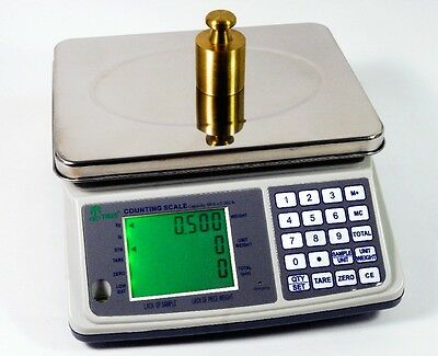 "Digital Counting Scale & Keypad Choose From 3,7,16,33,66 LB, 10"" x 7.5"" Platform"