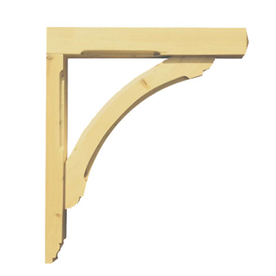 Gallows Bracket by George Woods (Wooden Timber Porch) **BESPOKE AVAILABLE**