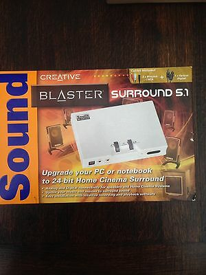 Creative Sound Blaster 5.1 Audio Surround Kit