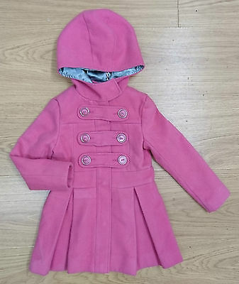 Miss Real Baby Girls Winter Jacket Coat Age 18-24 Months 2 Years Pink