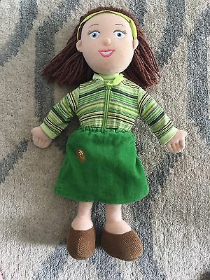 "Balamory - MISS HOOLIE  9"" Singing Plush Toy / Doll - Cbeebies - V.G Condition"