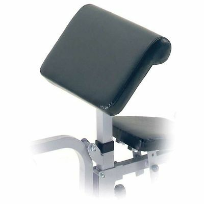 York Bicep Preacher Curl Attachment for Weight Lifting Gym Bench 530 and 540