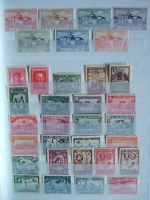 SPAIN 37 x OLDER  MINT HINGED MH STAMPS INC 1930 SEVILLE EXHIBITION HIGH CAT