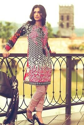 Mina Hasan Embroidered Lawn 2016 Unstitched Collection