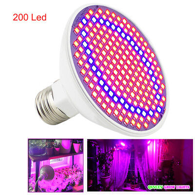 LED Plant Grow Light Growing Bulbs flower Hydroponics veg for Indoor greenhouse
