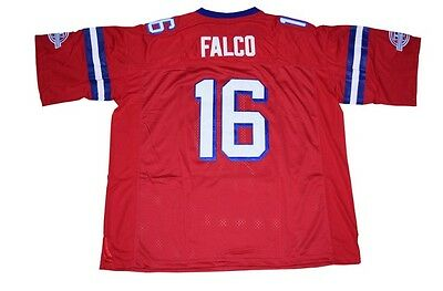 Shane Falco Red Jersey 16 The Replacements Football Movie  Keanu Reeves Sewn