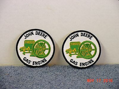 John Deere Gas Engine Patches  - (2)  Patches