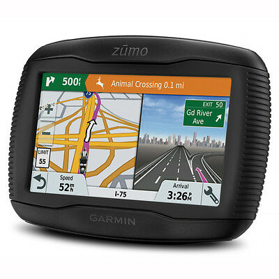 Motorcycle Garmin Zumo 345LM Motorcycle Sat Nav - Black UK Seller